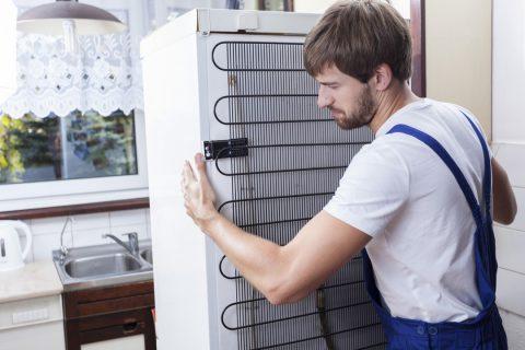 installation réfrigérateur